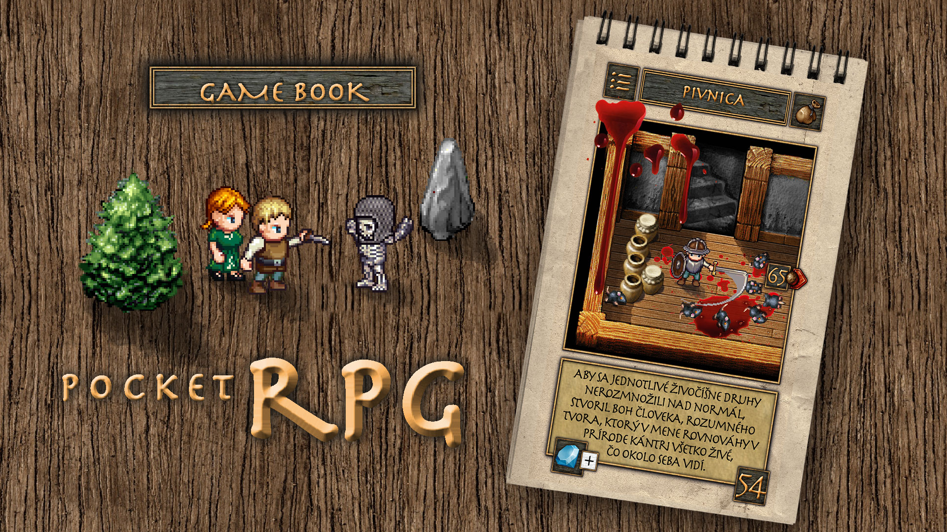 gamebook RPG do vrecka